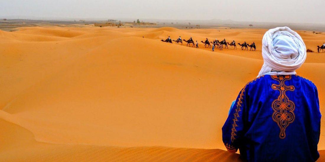 Trekking nel deserto del Marocco